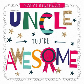 Most beautiful birthday wishes for uncle – best birthday