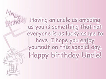 √ Happy birthday uncle wishes quotes happybirthday satisf...