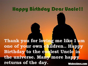 Happy birthday wishes for uncle greetings amp images and ...