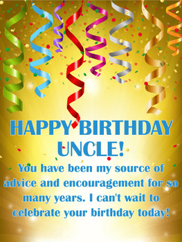 You are my source of advice happy birthday wishes card fo...