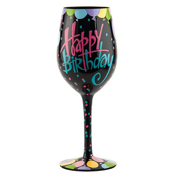 Lolita wine glass happy birthday giftcollector