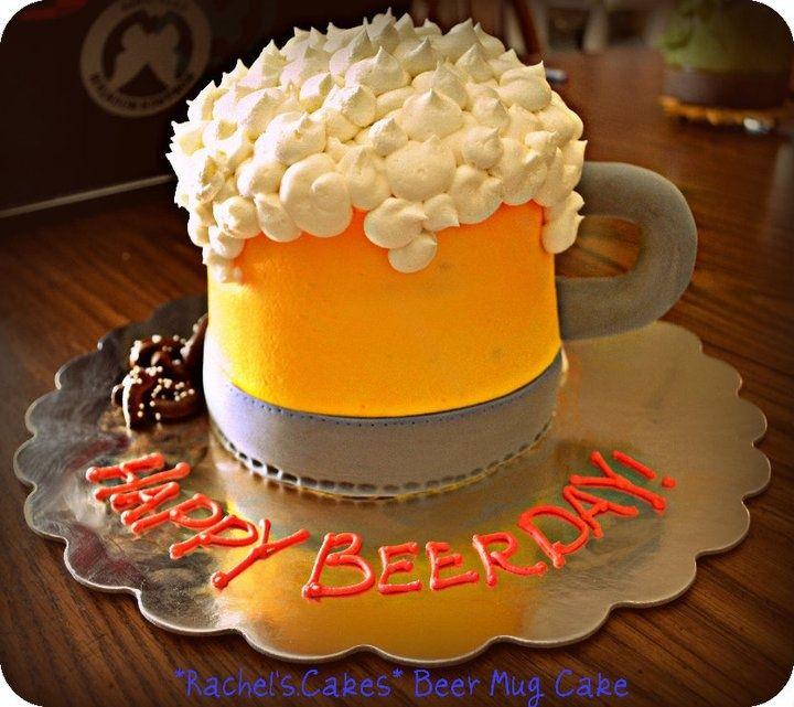 Admirable Beer Birthday Cake Best Beer Birthday Cakes Ideas On Pint Birthday Cards Printable Benkemecafe Filternl
