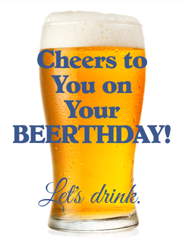 Beer Greeting Cards Birthday Amp By Davia