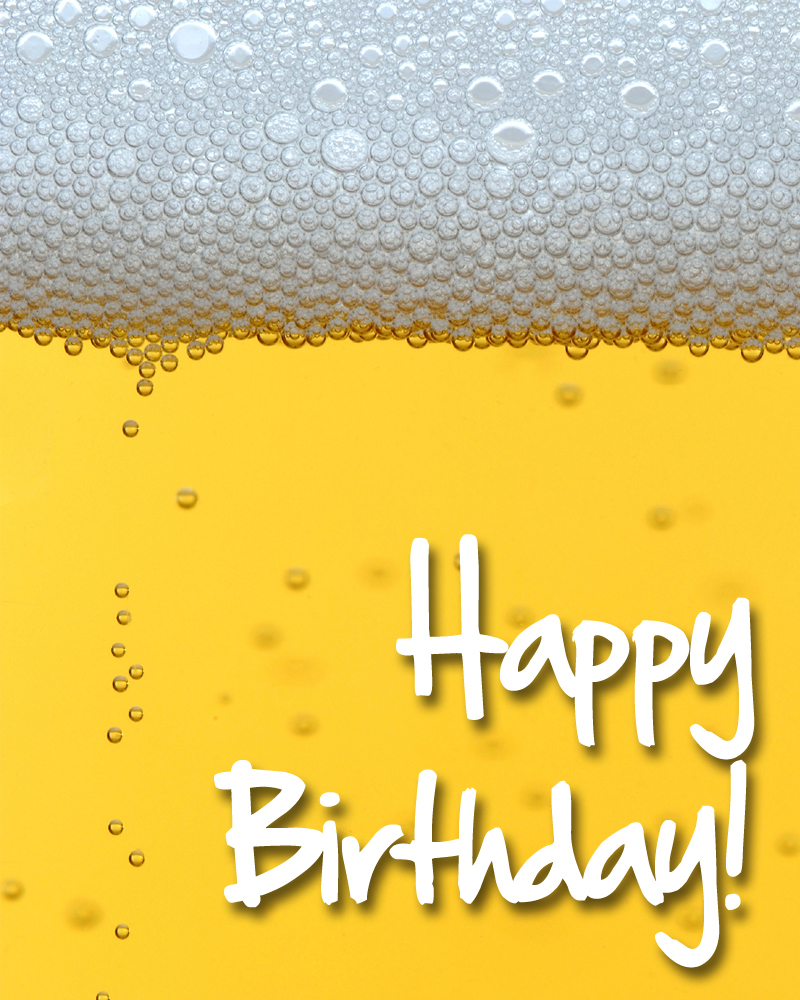 Happy Birthday Images With Beer