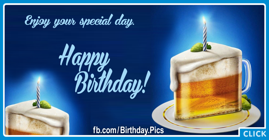 Enjoyable Happy Birthday Images With Beer Free Bday Cards And Personalised Birthday Cards Paralily Jamesorg
