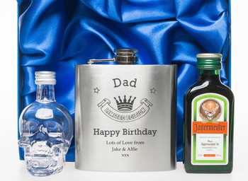 Engraved jagermeister gift personalised gifts with free d...