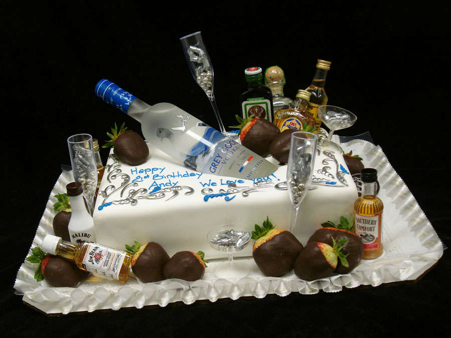 Pleasing Most Beautiful Birthday Cakes Happy Birthday Images Alcohol Vodka Funny Birthday Cards Online Alyptdamsfinfo