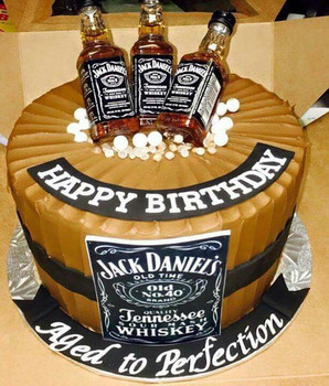 Mens birthday cake best cake whisky images on pinterest