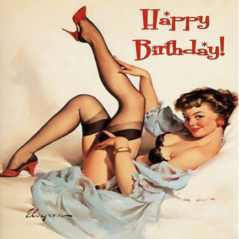 Awesome happy birthday pin up girl happy birthday pinterest