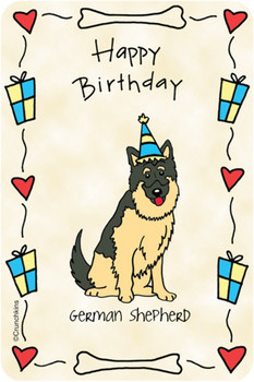 German sheperd happy birthday birthday shop by occasion