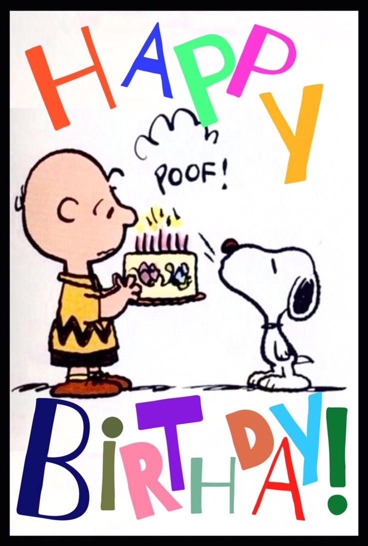 Happy Birthday Images With Snoopy
