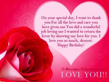 Birthday Love Quotes For Her Best Wishes Happy Birthday Images For