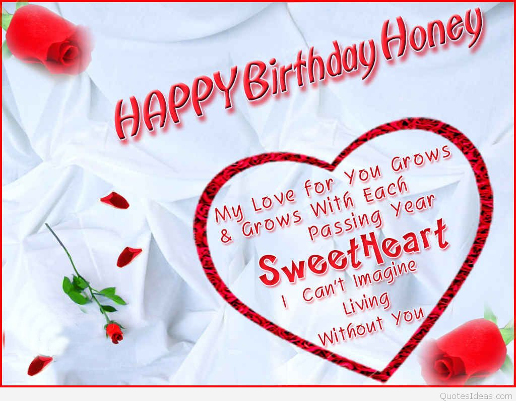 Romantic birthday wishes and messages for your wife wonde...