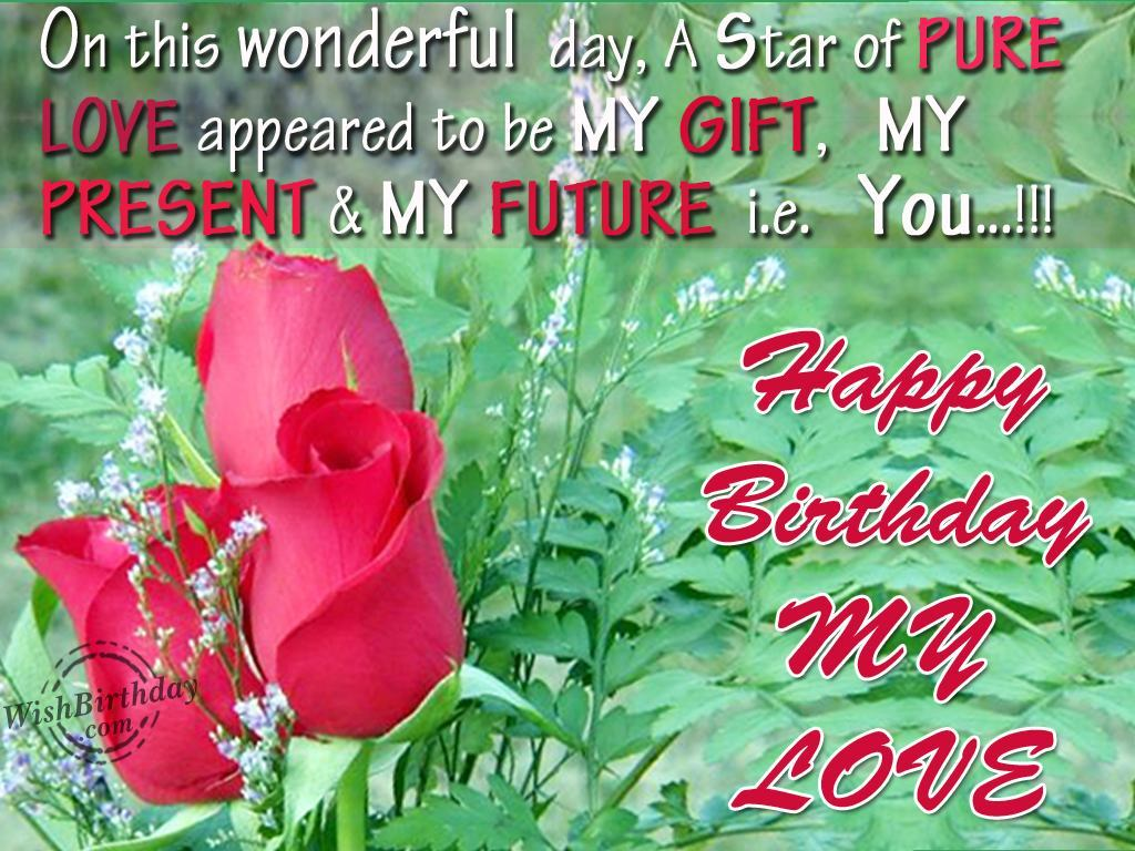 Happy Birthday My Love Images For Women
