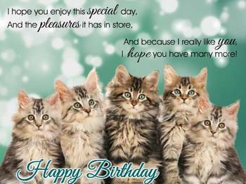 Happy Birthday Animation Ecards Share Free Greeting Postc