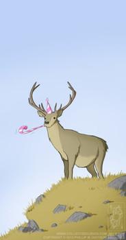 Cute Deer Cross Stitch Pattern Saying Happy Birthday Cros Happy