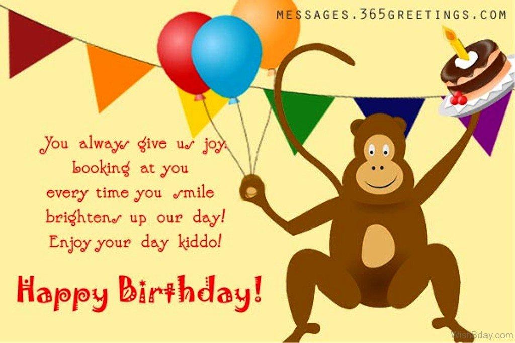 Funny Birthday Wishes Happy Birthday Images Animal Monkeys