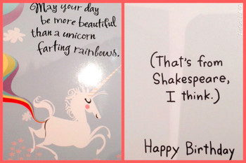 Unicorn birthday wishes i love the birthday cards that pe...