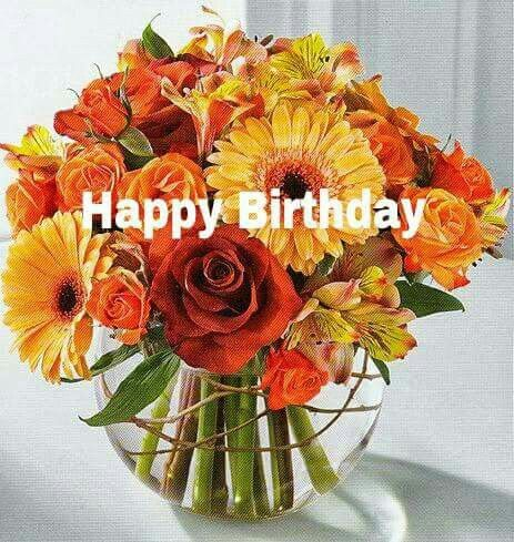 Happy Birthday Images With Fall Flowers Free Happy Bday Pictures And Photos Bday Card Com