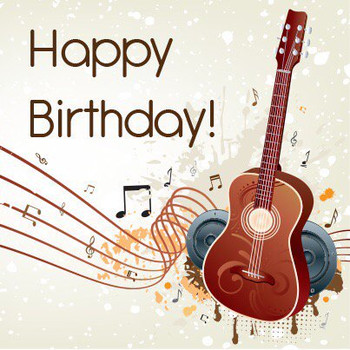 Happy Birthday Images With Guitar