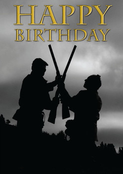 Charles sainsbury plaice double gunning happy birthday card
