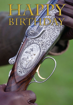 Csp beretta shotgun photograph happy birthday blank greet...