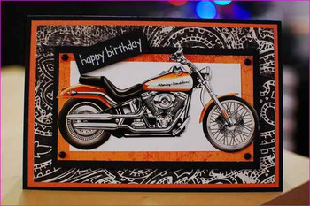 Happy birthday harley davidson cards simple image gallery