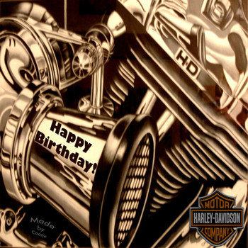 Fresh happy birthday harley davidson images