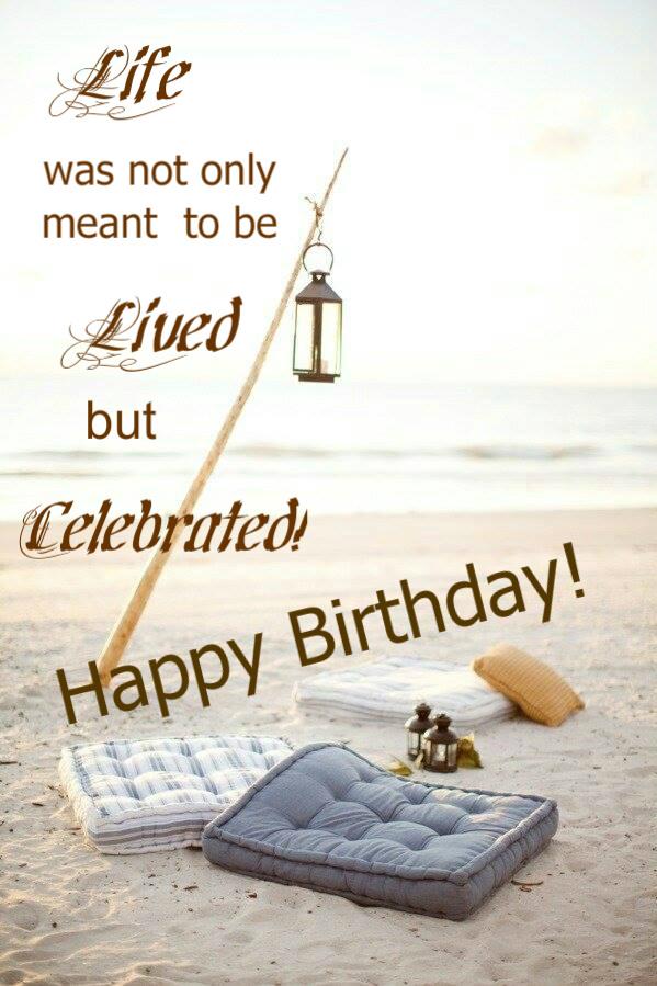 Beach Themed Birthday Wishes Imagenesmi