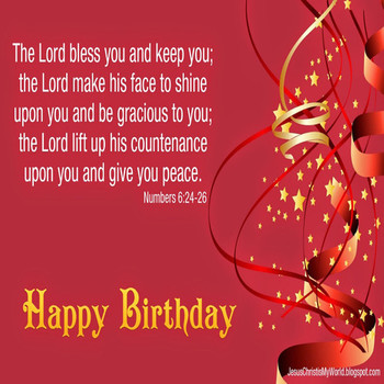 Bible Verse Birthday Cards Happy Verses