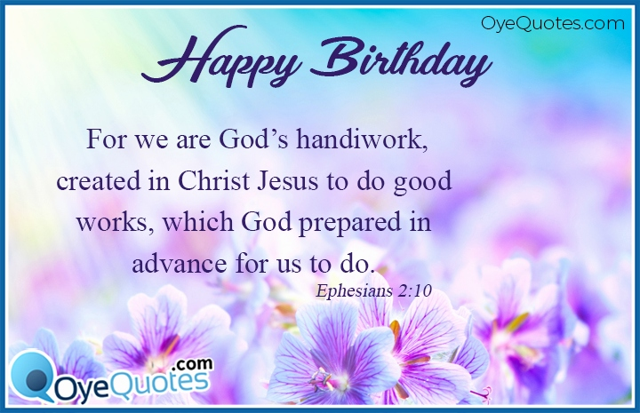 Birthday Wishes With Bible Quotes Unique Happy B