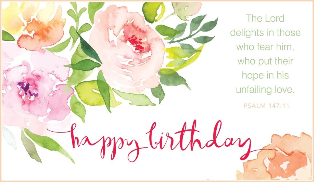 Free Psalm Happy Birthday Ecard Email Personalized
