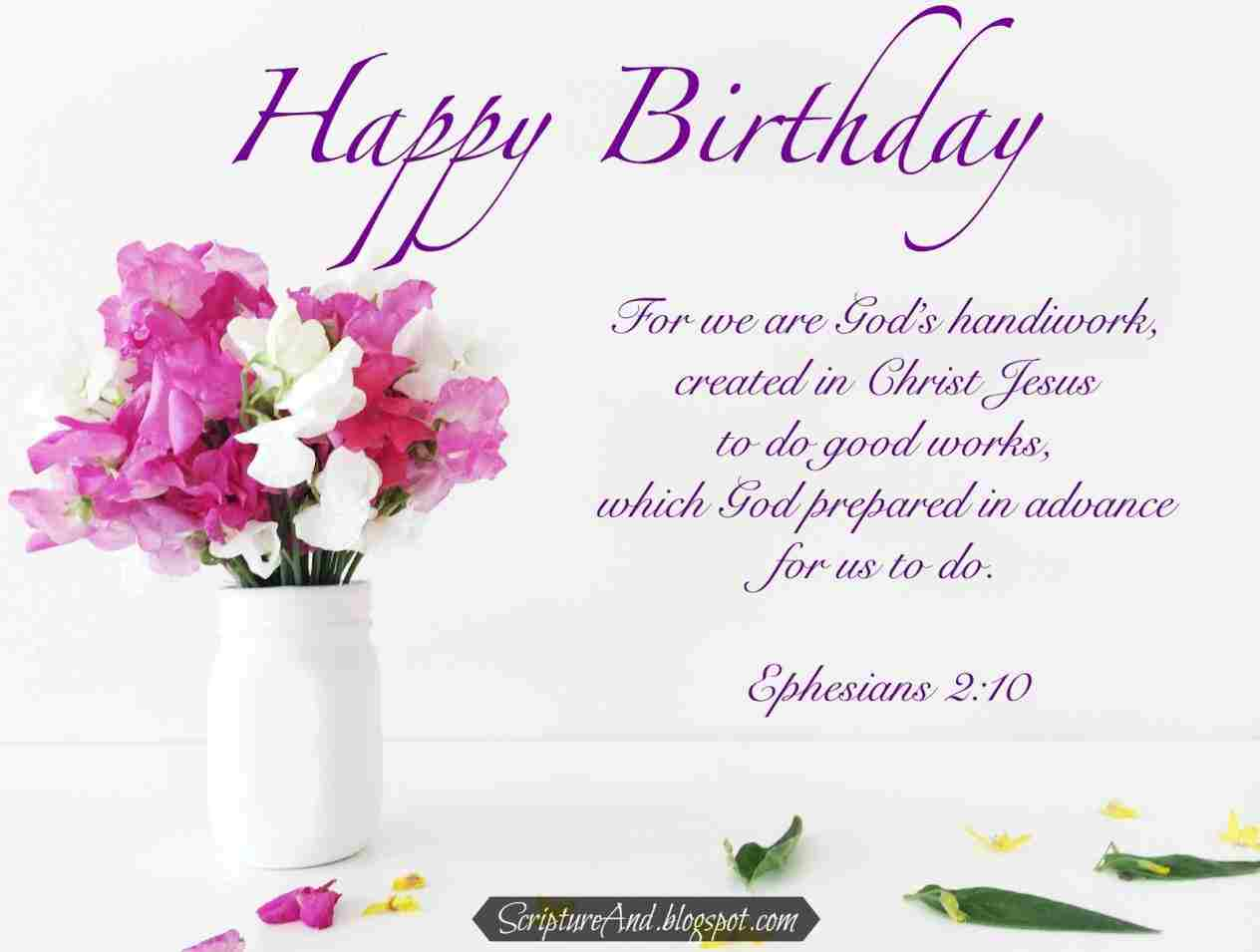 Birthday wishes from the bible birthday info