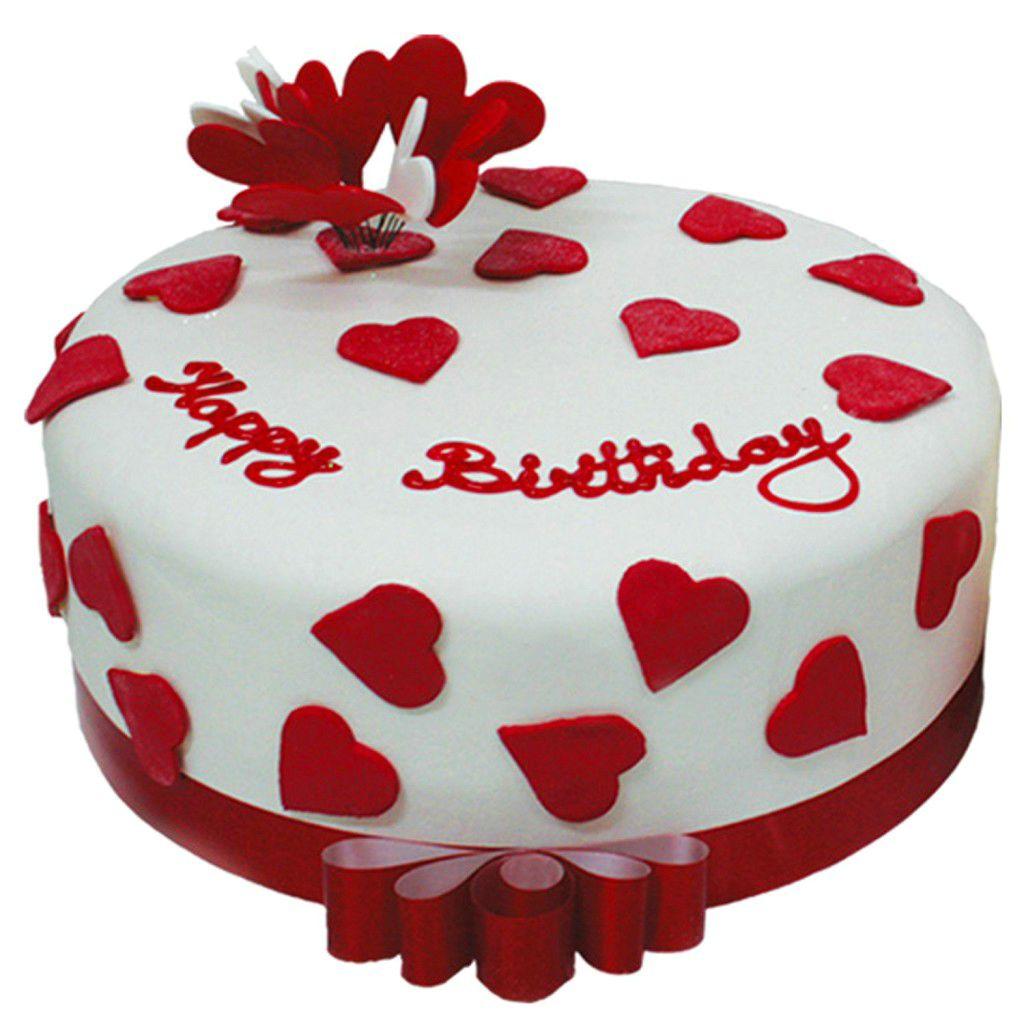 Home Design Heart Birthday Cake Happy Birthday Cake Design Happy