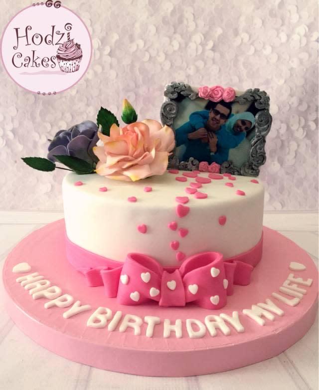 Floral Romantic Birthday Cake Happy Birthday Images Sundry Cake