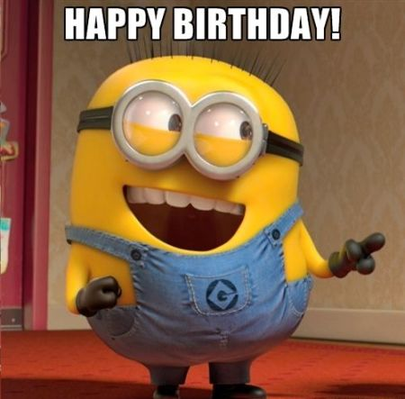 35 Happy Birthday Images With Minions Free Bday Cards And