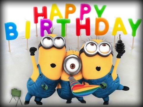 2e79105d3 Happy birthday minions feliz cumpleaños minions youtube - Happy ...