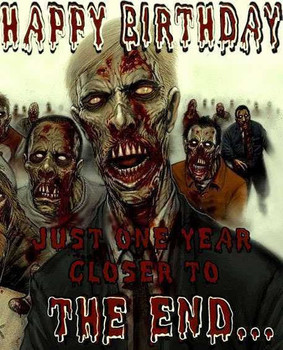 Download luxury zombie happy birthday images images free
