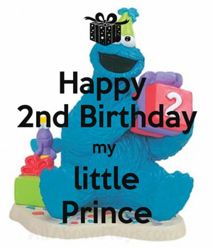 Happy 2nd Birthday My Little Prince