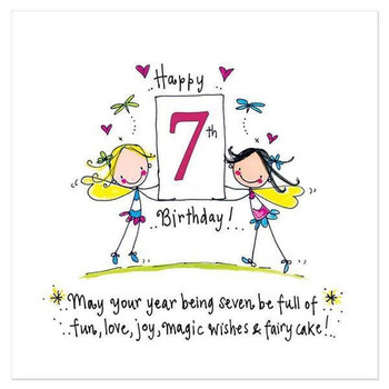 May Your Year Being Seven Be Full Of Fun