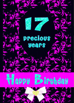 17 Presious Years Happy Birthday