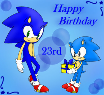 23rd Birthday Image