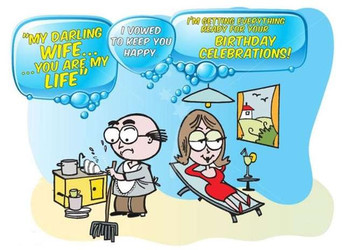 The Funniest Wishes To Make Your Wife Smile On Her Birthday Happy