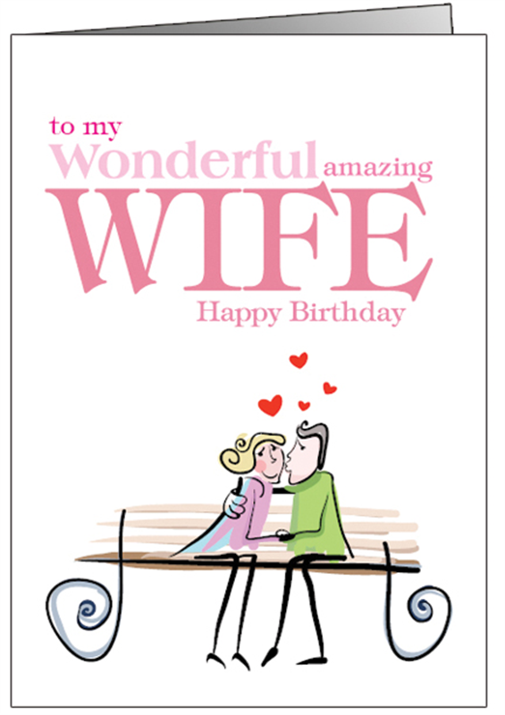 Happy Birthday Cards For Wife Printable Funny Romantic Ch