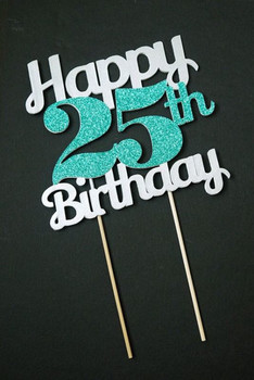 Nice Image Of 25th Birthday