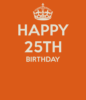 Image Of 25th Birthday