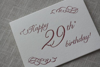 Pic Of 29th Birthday