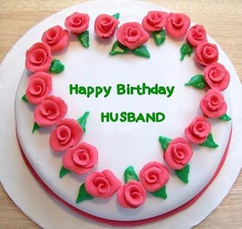 Happy Birthday Husband Cake For Wit