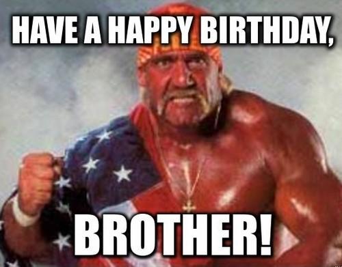 Hulk Hogan Brother Birthday Meme2 Happy Birthday Images For