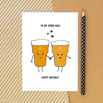 Family Happy Birthday Cards For A Male Friend Together With